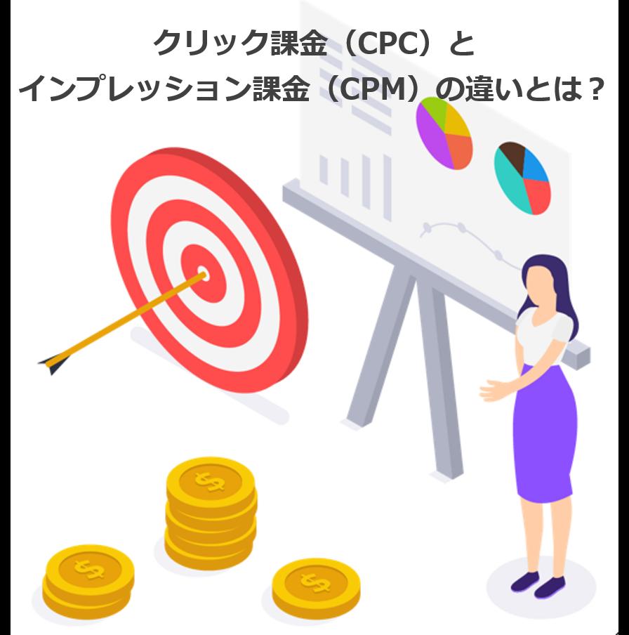 クリック課金(CPC)とインプレッション課金(CPM)の違いとは?メリット・デメリットまで解説